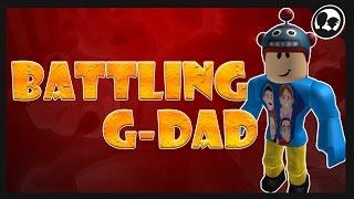 BATTLING G-DAD (G-Rated Family Gaming)!! | Série de bataille de YouTuber (fr) Roblox: Bronze brique Pokemon