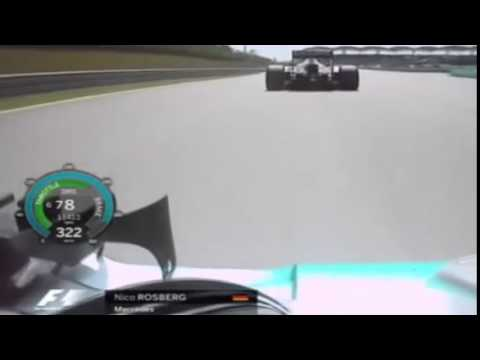 F1 2015  Nico Rosberg Onboard Malaysian GP