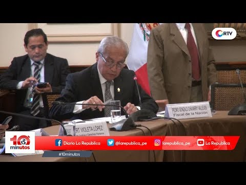 Fujimorismo ratifica su blindaje a Pedro Chávarry - 10 minutos Edición Matinal