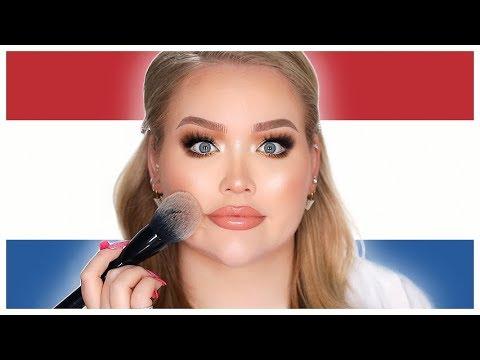 Speaking Dutch Only Makeup Tutorial Nikkietutorials