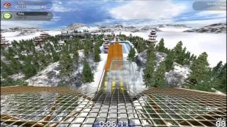 TrackMania Forever - Gameplay FR HD - Rollercoaster & Karmaggedon !!!