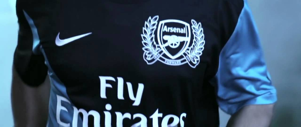 a5037f6fce7 Nike Arsenal Away Kit 2011 2012 - YouTube