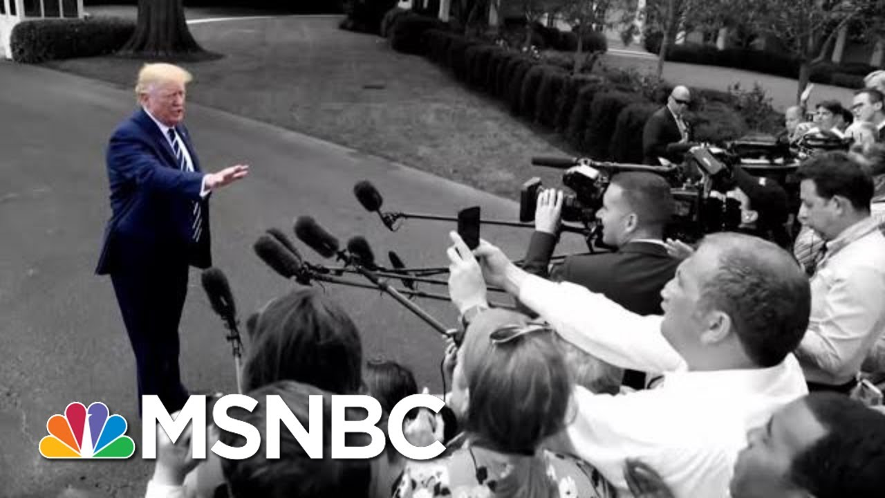Trump Yesterday: Unhappy With Racist Chant. Trump Now: They're Patriots. | The 11th Hour | MSNB