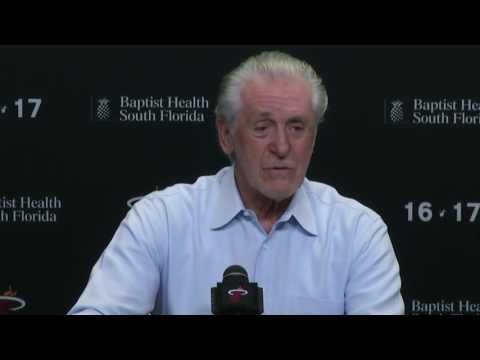 April 19, 2017 - heat.com (1of4) - Miami Heat's Pat Riley End of Season Press Conference