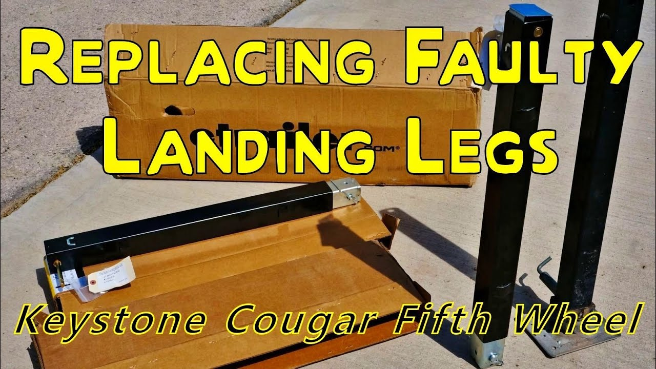 repair and install of my fifth wheel landing legs