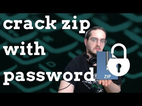 HOW TO CRACK ZIPS | LETS HACK