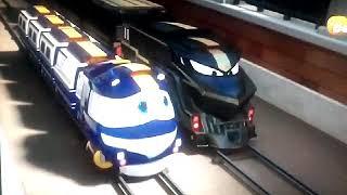 Robot trains personaggi trasformabili cm selly rocco