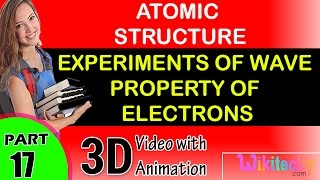 experiments of wave property of electrons atomic structure class 12 chemistry notes cbse