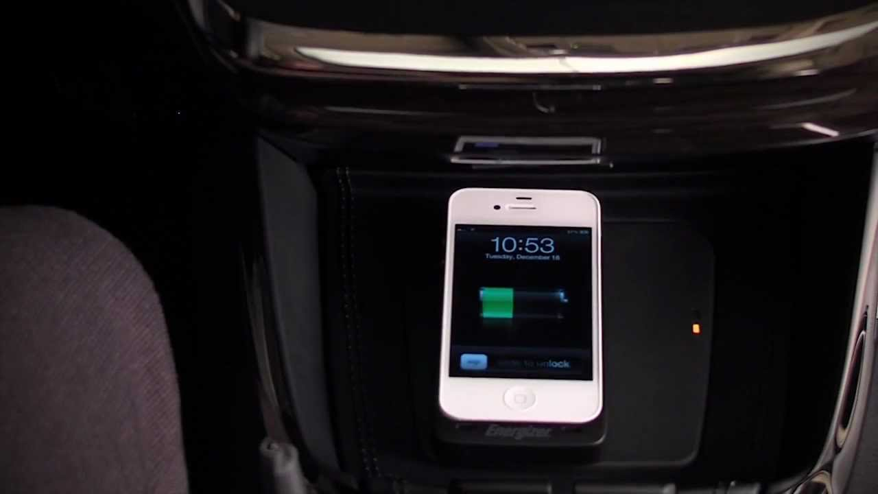 Toyota Qi Wireless Charging For 2013 Avalon