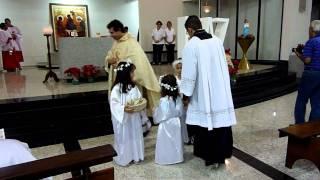 Missa Noite de Natal 2010 - Ouro, Incenso e Mirra (Preparação das Ofertas)