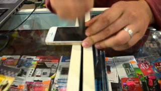 Тест защитного стекла iphone 5s(Тестировали защитное стекло на iphone 5s. Выводы можете сделать сами. Купить такое стекло и другие аксессуары..., 2015-08-10T01:00:30.000Z)
