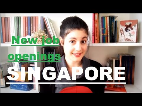 New job openings SINGAPORE 2019-2020//How to apply job in Singapore//Latest jobs in Singapore