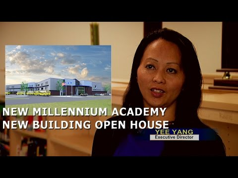3HMONGTV: New Millennium Academy new building Open House in Brooklyn Center, MN.