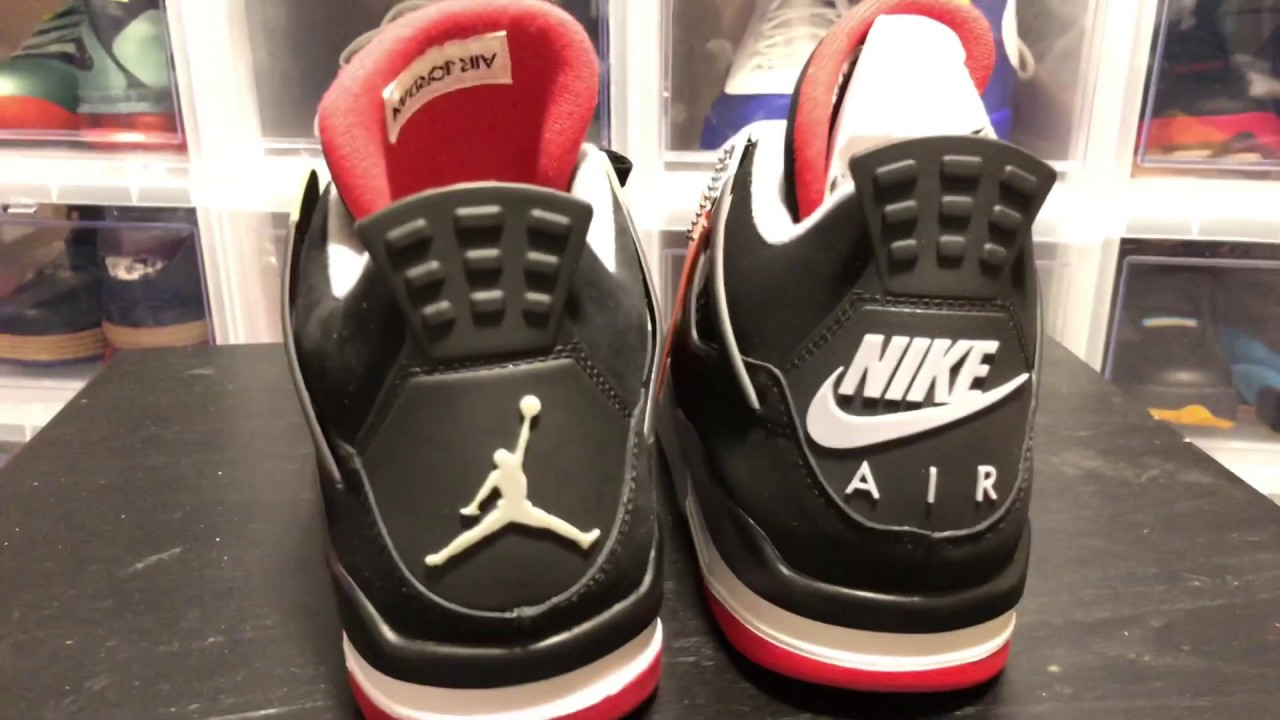 Jordan 4 Black Cement 2019 vs 2012