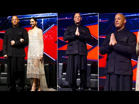 Vin Diesel & Deepika Padukone at XXX : Return of Xander Cage Movie promotion
