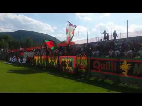 Circa 600 tifosi per la seconda amichevole della Ternana a Norcia