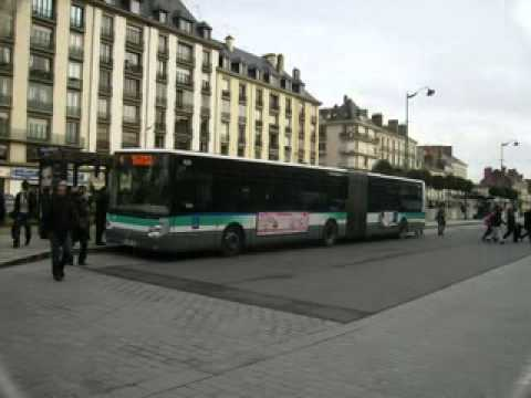 rennes buses youtube. Black Bedroom Furniture Sets. Home Design Ideas