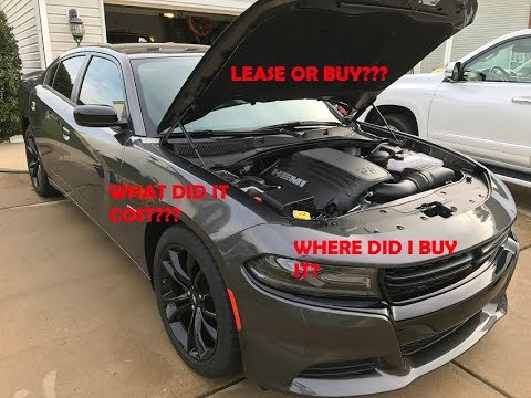 2017 Dodge Charger R T What Did It Cost Lease Or