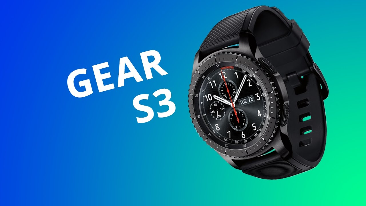 ace13729f00 Smartwatch Samsung Gear S3 Frontier  Análise Review  - YouTube