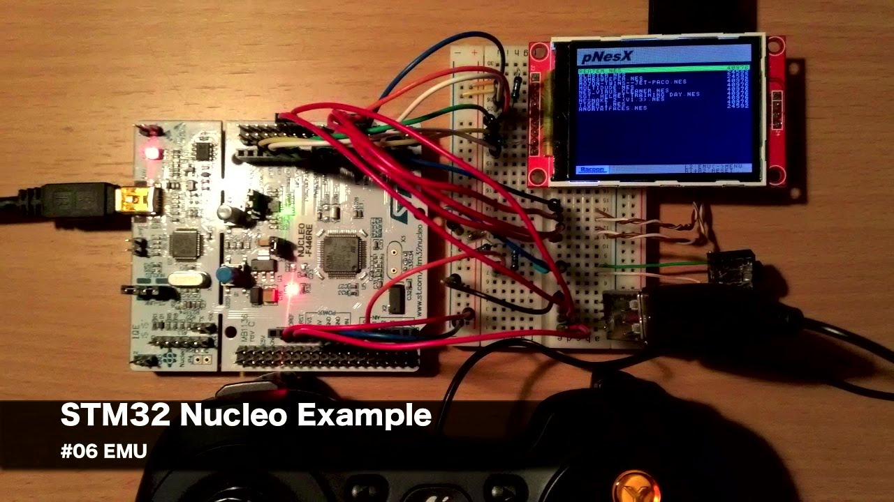 STM32 Nucleo Example #06 EMU
