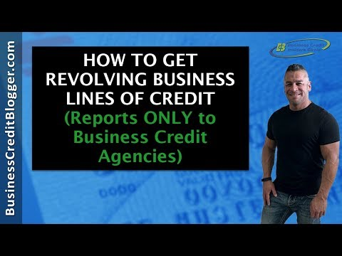 How to Get Revolving Business Lines of Credit