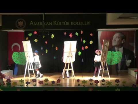 Beylikdüzü Amerikan Kültür Koleji 2B Sınıfı Portfolyo Gösterisi