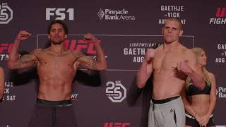 UFC Fight Night 135 Lincoln: Weigh-in Faceoffs Video and Official Results