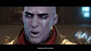 Destiny 2   Part 1   Hunter - Character Creation   The attack on Tower