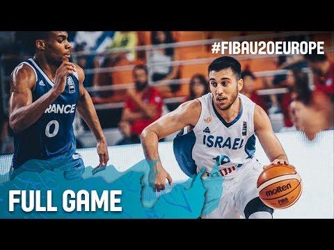 Israel v France - Full Game - Semi-Finals - FIBA U20 European Championship 2017
