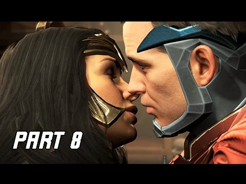 INJUSTICE 2 Walkthrough Part 8 - Wonder Woman (Story Mode Let's Play)