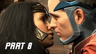 INJUSTICE 2 Walkthrough Part 8 - Wonder Woman (Story Mode Let's Play)