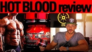 Scitec Hot Blood - ehrliches Booster-Review