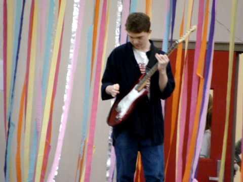Star-Spangled Banner GUITAR! Hazelbrook Middle School talent show!