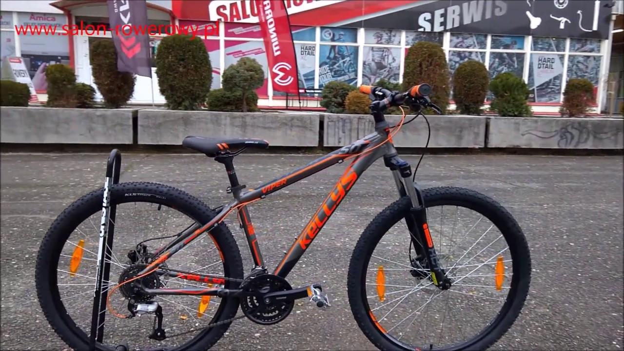 60cac3ded93 rower Kellys Viper 50 2018 black orange www.salon-rowerowy.pl - YouTube