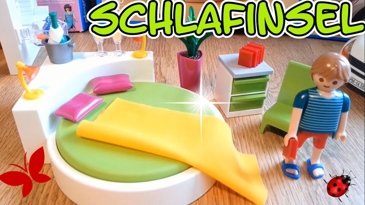 Playmobil Schlafzimmer 5583 Luxusvilla auspacken seratus1 deutsch unboxing  Schlafinsel