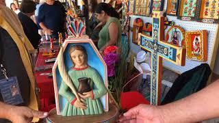 Santa Fe Spanish Market - Artist Interview - Joseph Lopez | Santero