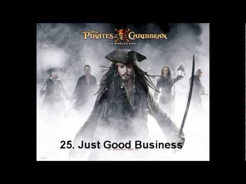 "Expanded Score ""PotC - At World's End"" 25. Just Good Business"
