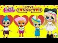 LOL LOVE CONNECTION Game Show Valentine's Day Special Big Sister LOLs Find A Valentine