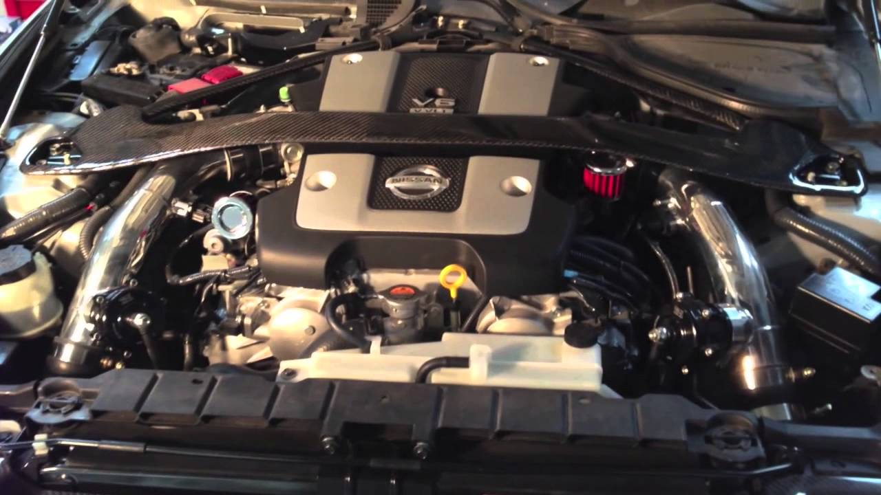 Boosted Performance Nissan 370z Turbo Kit With Berk