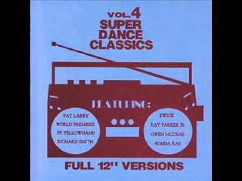 Super Dance Classics Vol 4 - ALBUM Funk  (TRES RARE)