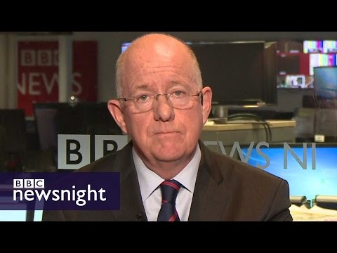 'No punishment over Brexit': Irish Foreign Minister Charlie Flanagan  - BBC Newsnight