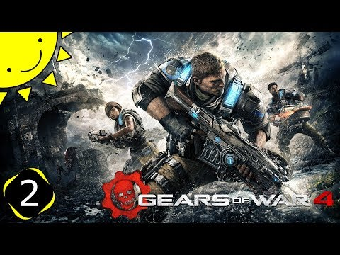 Let's Play Gears Of War 4 | Part 2 - The Fabricator | Blind Gameplay