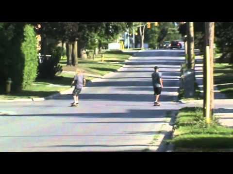 Lindsay Longboarding # 3 With The Team!
