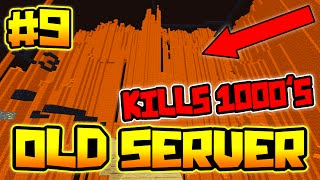 LAVA CURTAIN KILLS 1000'S OF US!! | OLDEST SERVER IN MINECRAFT #9