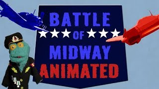 Battle of Midway Animated (1942)