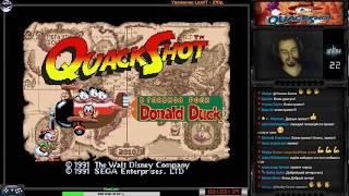 Quackshot: starring Donald Duck прохождение | Игра на (SEGA Genesis, Mega Drive) 1991 Стрим HD RUS
