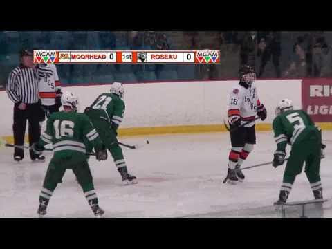 Moorhead Spuds Hockey Versus Roseau Rams (1/24/17)