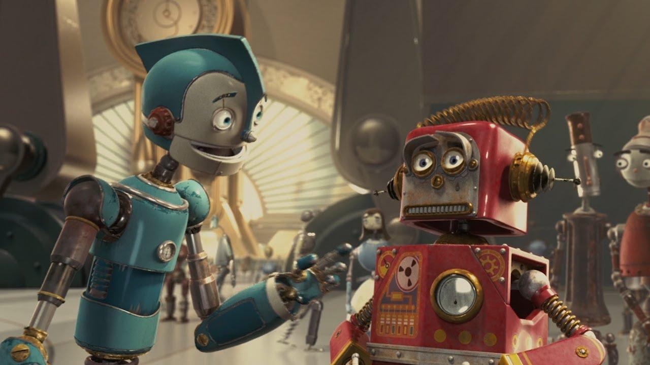 Картинки из мультика про роботов