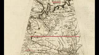 Придуманная Россия или карта 1665 года