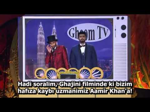 IIFA 2015 - Ranveer Singh Ve Arjun Kapoor Sunumu! Türkçe Alt Yazılı